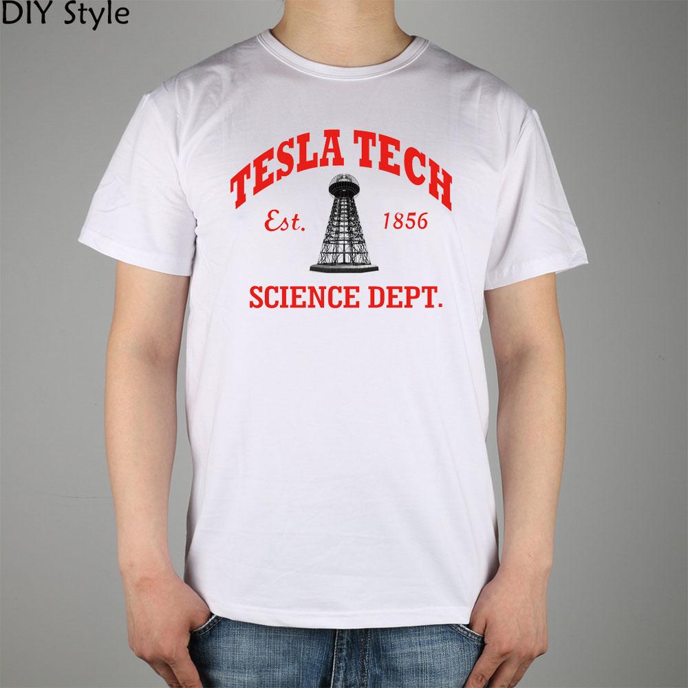 TESLA GWC KK TECH SCIENCE camiseta Top Lycra algodón Hombres - Ropa de hombre - foto 2