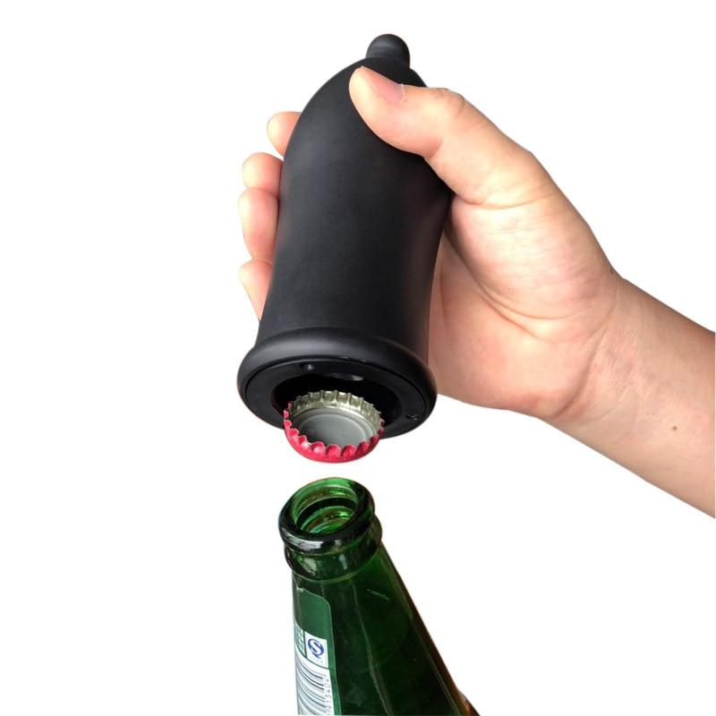 Press Automatic Beer Bottle Opener Portable Kitchen Bottle Cap Lifter TT-best