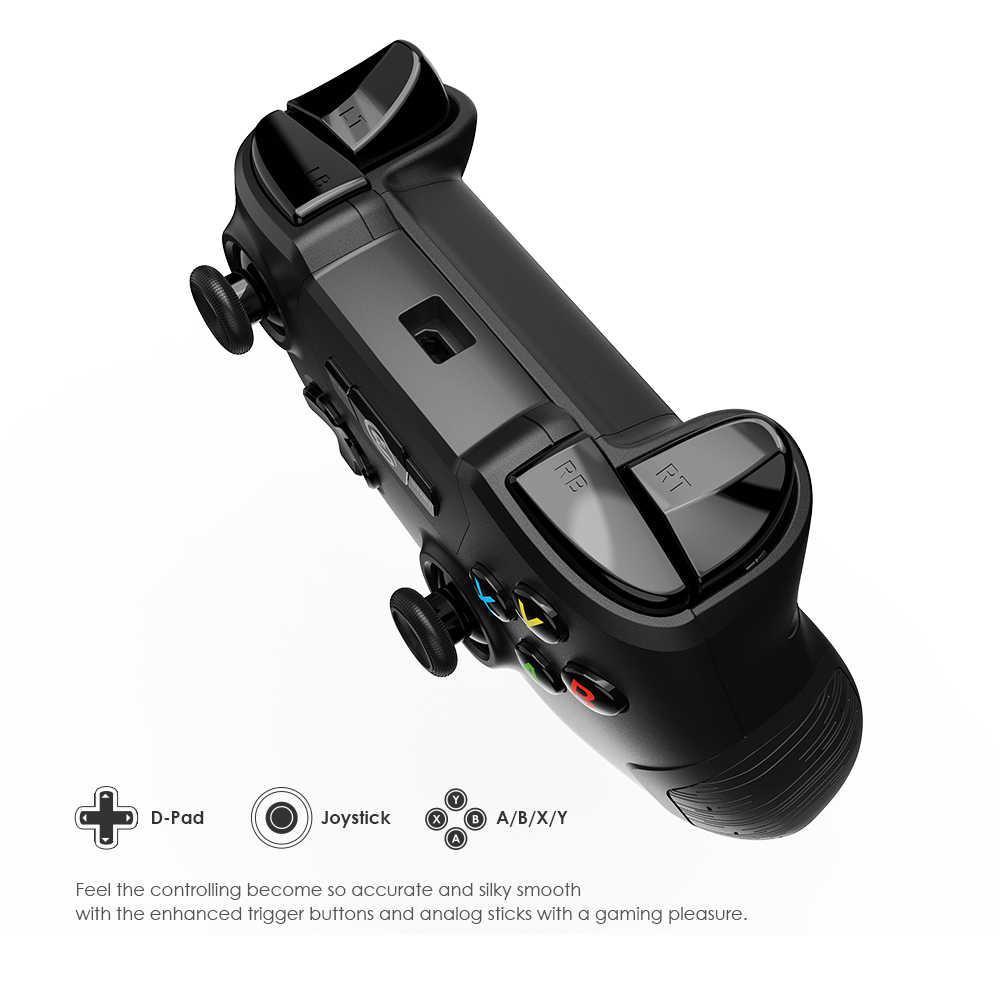 GameSir T2a kablosuz 2.4G Bluetooth denetleyicisi ile telefon tutucu, Joystick oyun Gamepad için Android/tv kutusu/PC