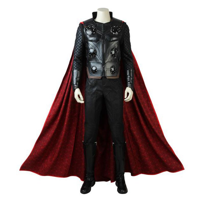 Thor Cosplay Costume The Avengers Infinity War Cosplay Outfit Superhero Halloween Clothes Party Custom Made Adult Men