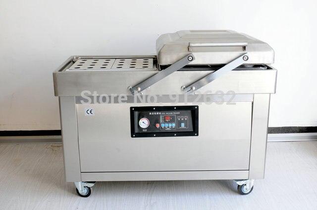 Machine à vide à Double chambre RY-DZ400/2C, scellant sous vide, scellant à sac en papier