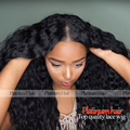 Long Black Hair Wig Free Shipping Loose Curly Synthetic Lace Front Wig High Density Heat Resistant Fiber Hair Wig With Baby Hair