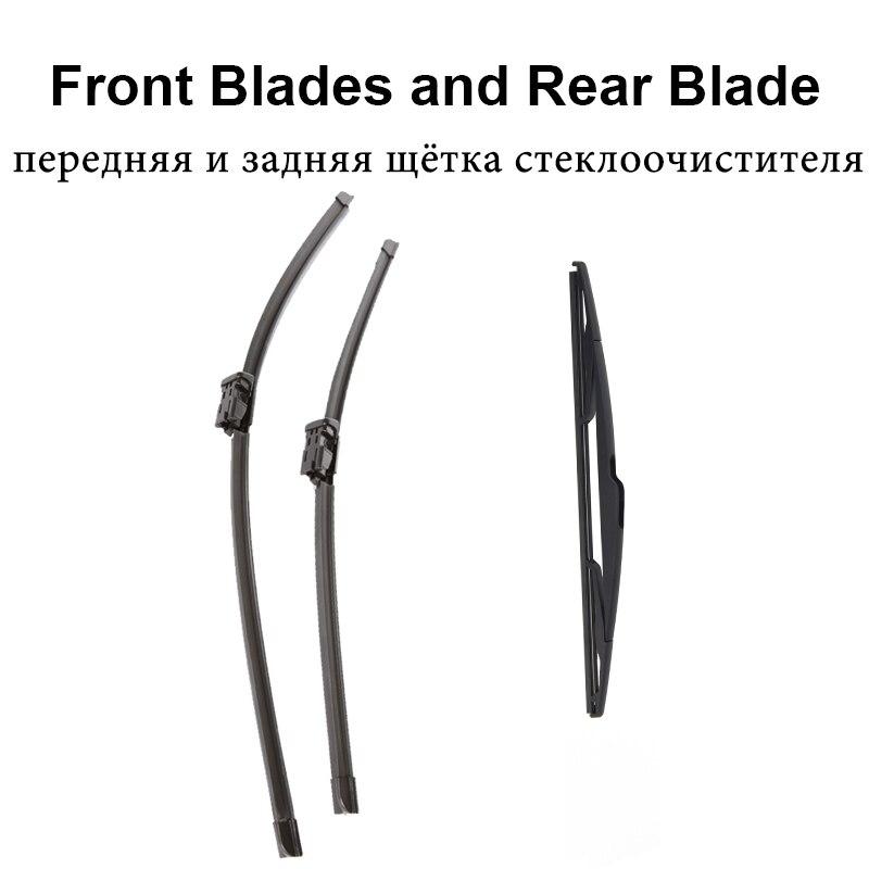 REFRESH Щетки стеклоочистителя для Opel Adam Fit Push Button Arms 2013 - Цвет: Front and Rear