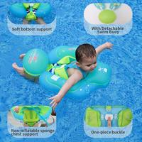 1Pcs Baby Swim Ring Neck Float Baby Accessories Swim Anti back Safety Neck Ring Baby Kids Swimming Infant Circle for Bathing