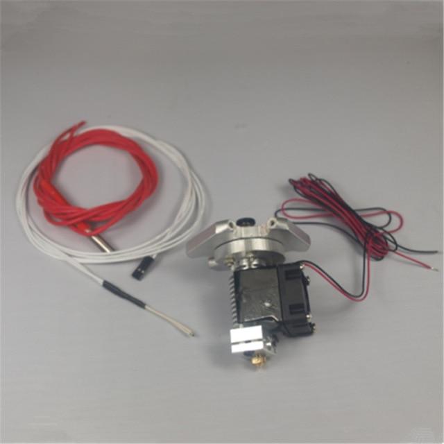 ФОТО Reprap Kossel Rostock 3D printer auminum end effector + V6 hotend kit/set 104GT-2 thermistor 1.75/3 mm