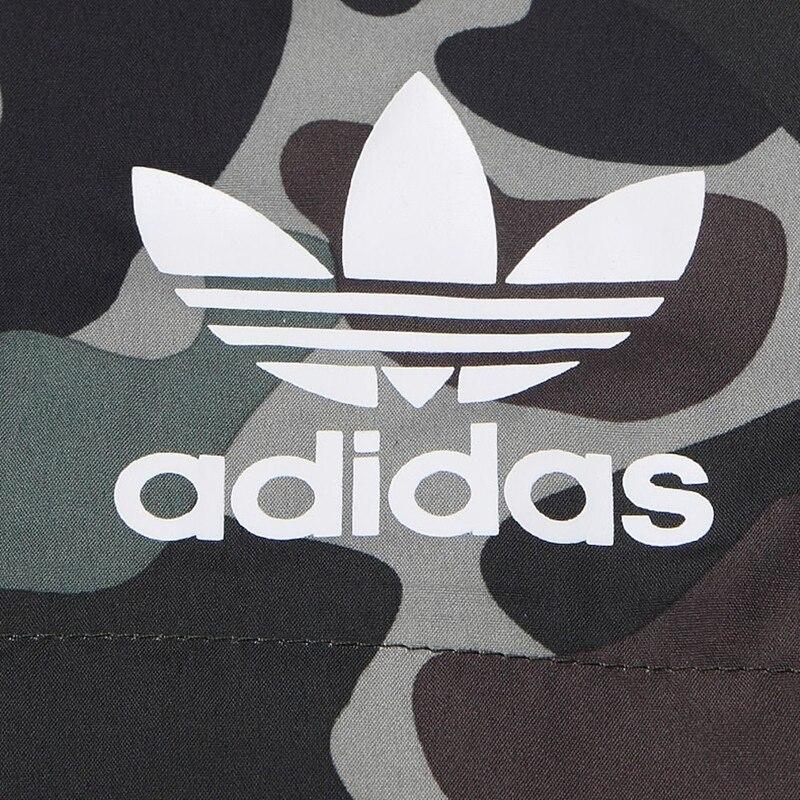 US $135.5  Original Neue Ankunft Adidas Originals CAMO REV WB Männer der jacke Kapuze Sport in Original Neue Ankunft Adidas Originals CAMO REV WB