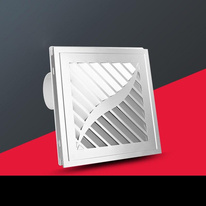 Ventilation à la maison ventilateur d'échappement montage mural à faible bruit maison salle de bains cuisine forte Ventilation ventilateurs ITAS9904A
