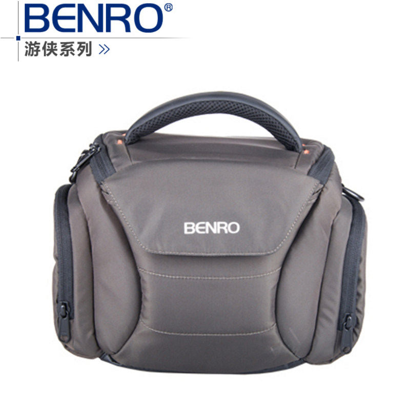 Benro Ranger S20one shoulder professional camera bag slr camera bag rain cover bagsmart dslr slr camera shoulder bag water repellent polyester with rain cover green grey black