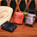New Vegetable tanned leather cigarette case Bargaining chip package Handmade gifts Waist Packs