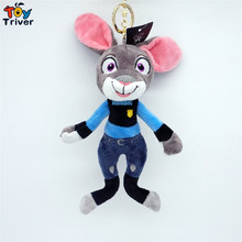 Triver Toy Quality Fragrance Zootopia Judy Nick doll mobile phone Automobile key chain pendant plush toy wholesale free shipping
