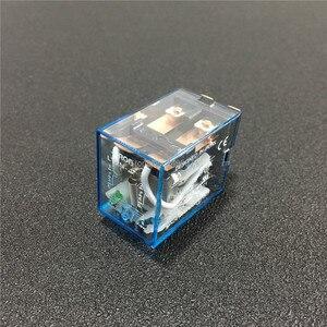 Image 3 - 10 zestawów LY2NJ 12VDC 24VDC 110VAC 220VAC mocą cewki przekaźnik Mini przekaźnik 8 Pins DPDT 10A LY2N J HH62P JQX 13F z PTF08A podstawa gniazda