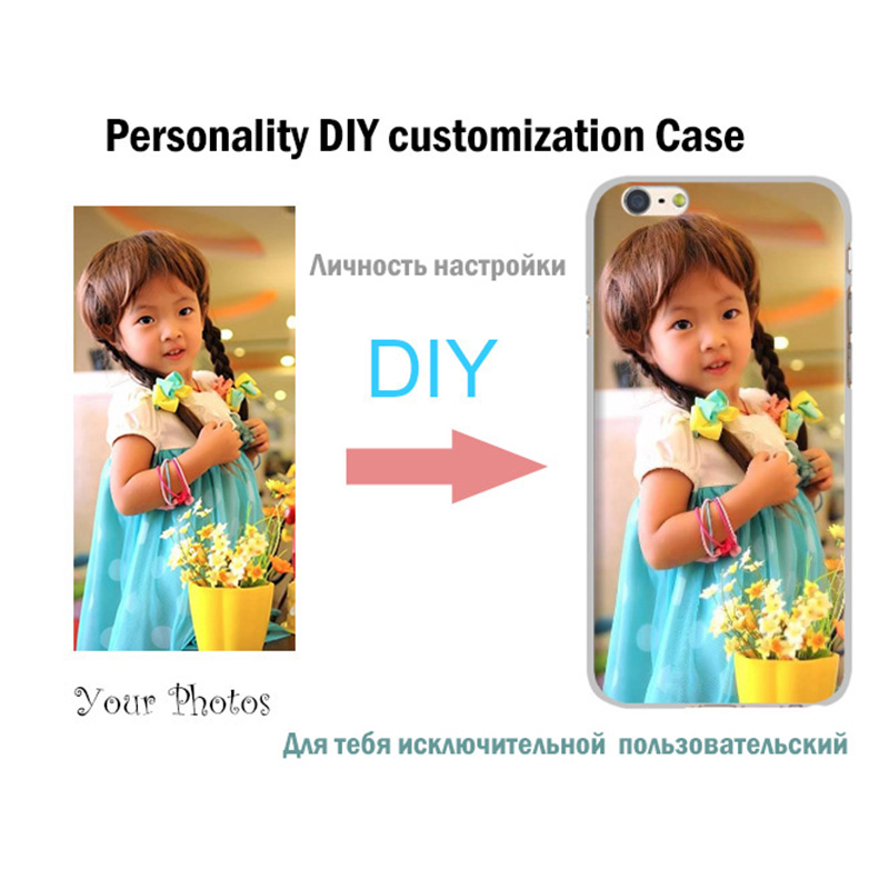 For IPhone 7 Plus Case, DIY Personality customization Soft TPU back cover case for iphone7plus custom made