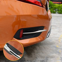 Chrome Rear Fog Light Trim Cover Garnish Molding, For Civic 2016-2018