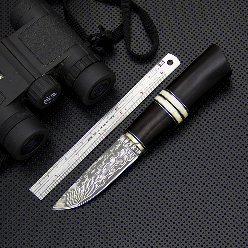 Damascus Fixed Blade Knife Damascus Collection Straight Knife Outdoor Camping Knives Self Defense Rescue Hunting Knives Tools цена 2017