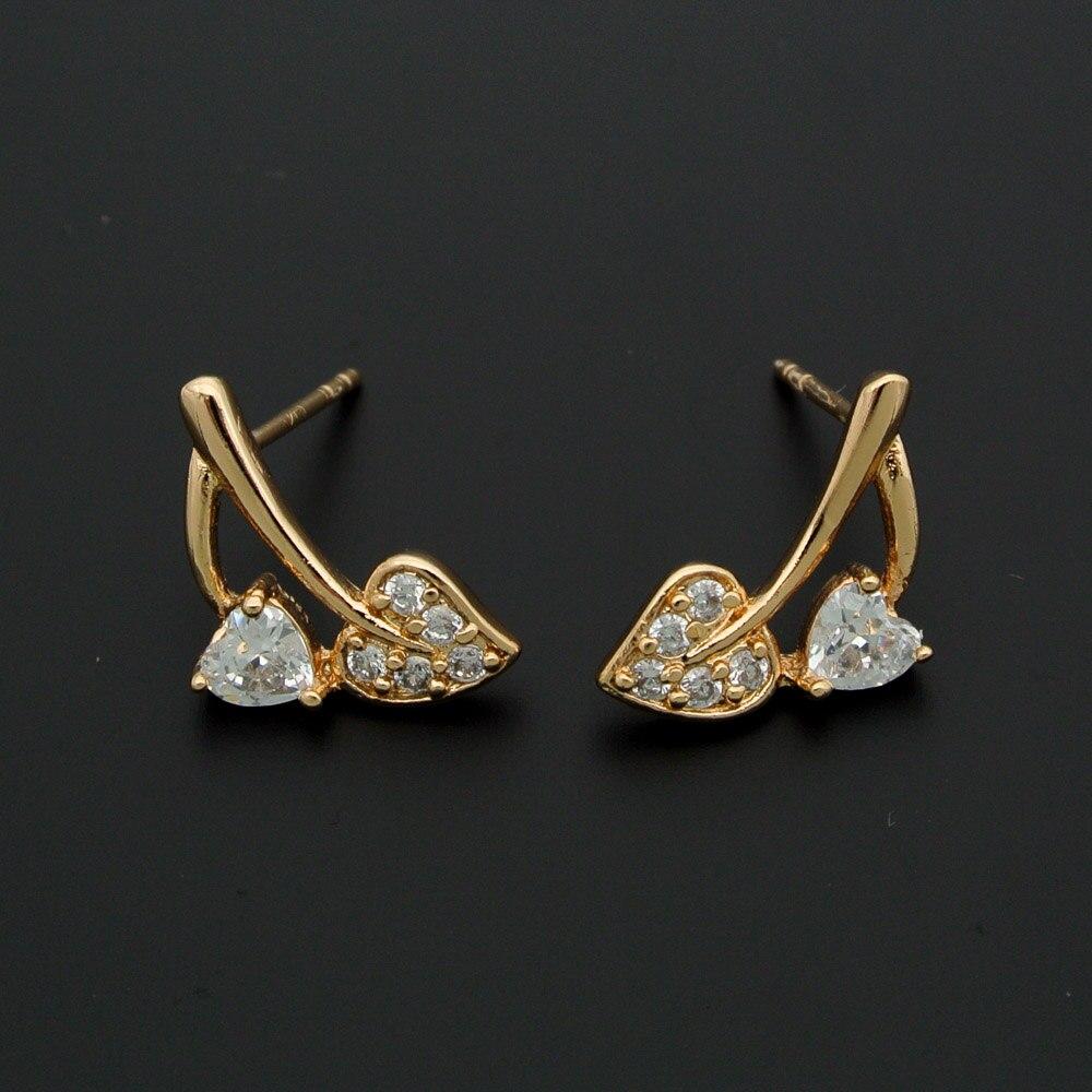 Titanium Crystal Earring Studs Charme Élégant Boucles d/'oreilles pour femmes Fashion Jewelry