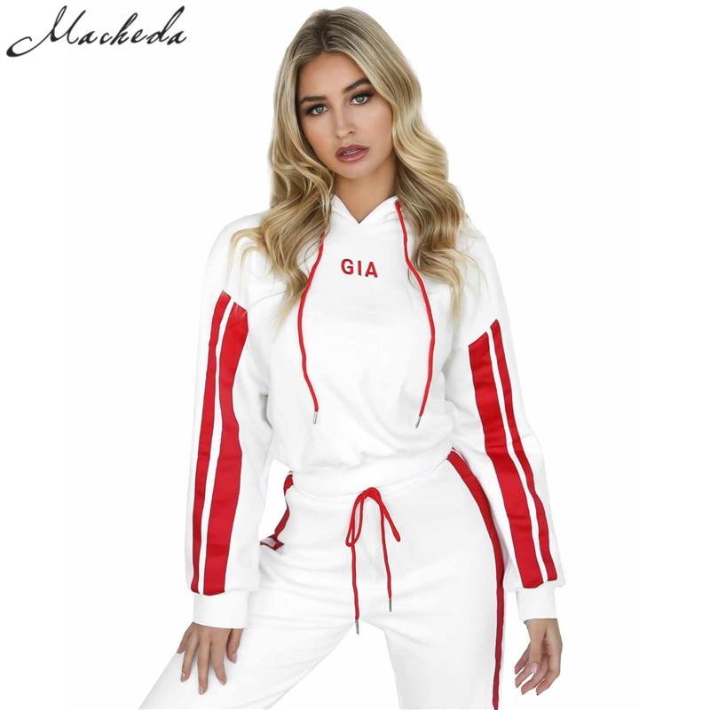 Gia 2 Piece Set Women Tracksuit Sportswear Casual 1