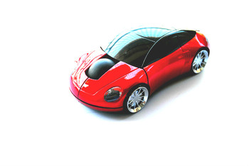 Car Shaped Wireless Optical Mouse