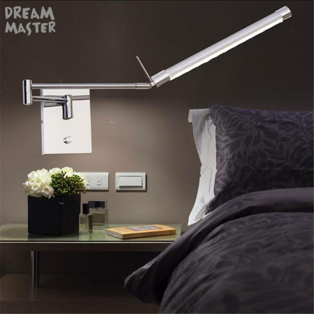 Bedroom Bedside Led Reading Lamp Sku 32997927852