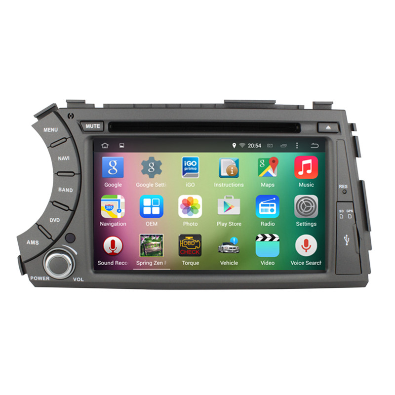 7″ Android 5.1.1 Quad Core Car Stereo Audio Autoradio Head Unit Headunit for Ssangyong Kryon Actyon Korando 2006-2012 3G WIFI