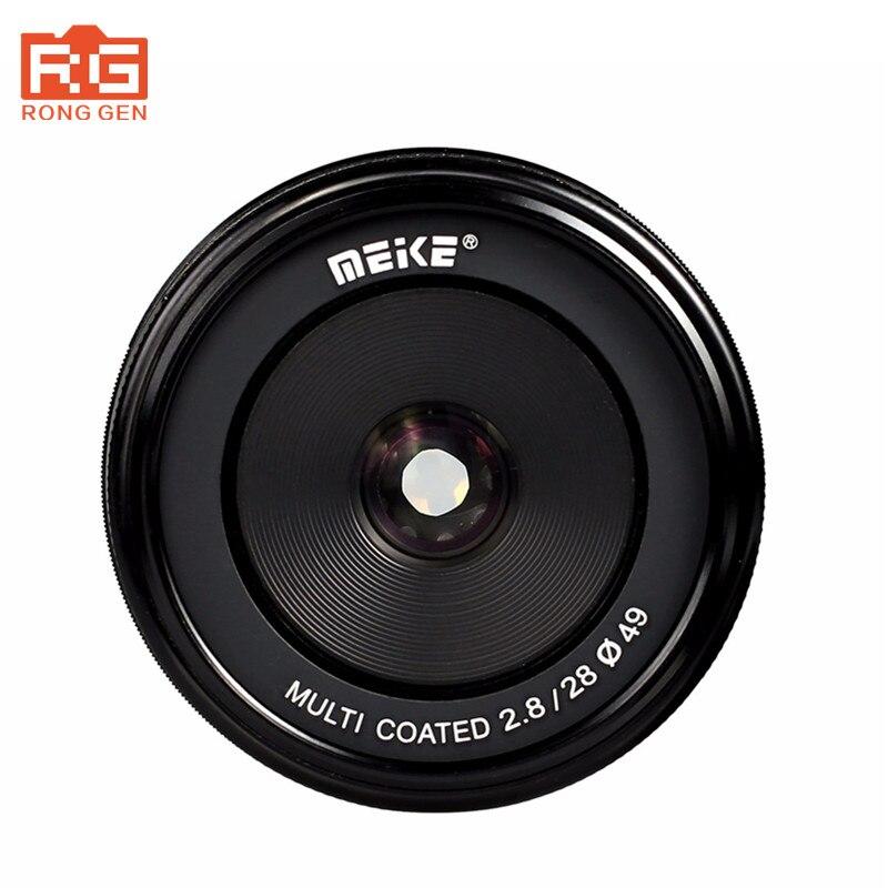 Meike MK-M4/3-28mm-f/2.8 28mm f2.8 fixed manual focus lens for M4/3 system Mirrorless Camera metco meike mk f af3 fuji микро сингл крупным планом кольцо