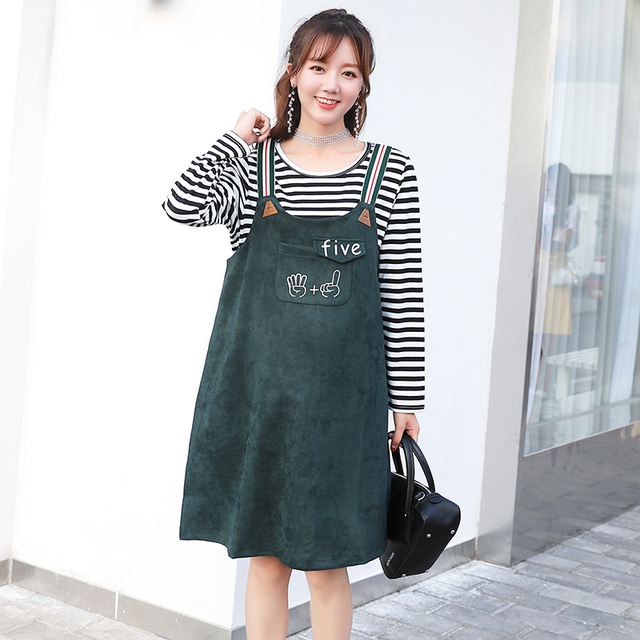 Autumn Spring Maternity Clothing Formal Pregnancy Dress Maternity Clothes Of Pregnant Women Loose Premama Vestidos White