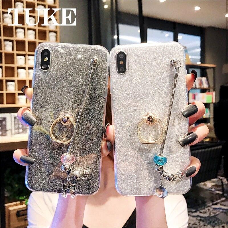 Phone Case for Samsung Galaxy A5 A7 J2 Pro J6 J4 Prime J8 A9 2018 J3 J5 J7 2017 J2 Core Note 9 A8 Star Girl Bracelet Cover