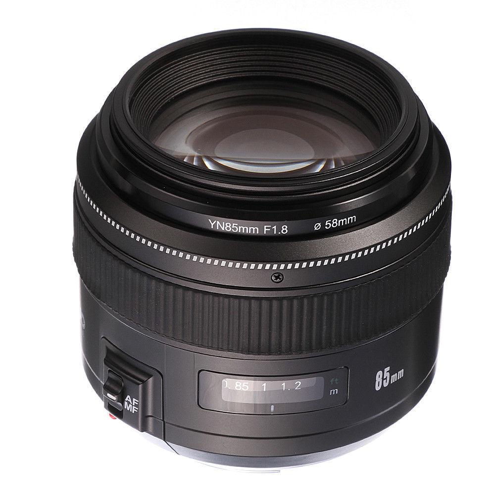 Yongnuo YN 85 MM F1.8 AF/MF Auto/manuel Focus téléobjectif Prime pour Canon DSLR