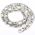 Mens Boys 10mm 316L Stainless Steel Silver Tone Marina Necklace Chain Personalized Wholesale Gift Jewelry Jewellry LHN03