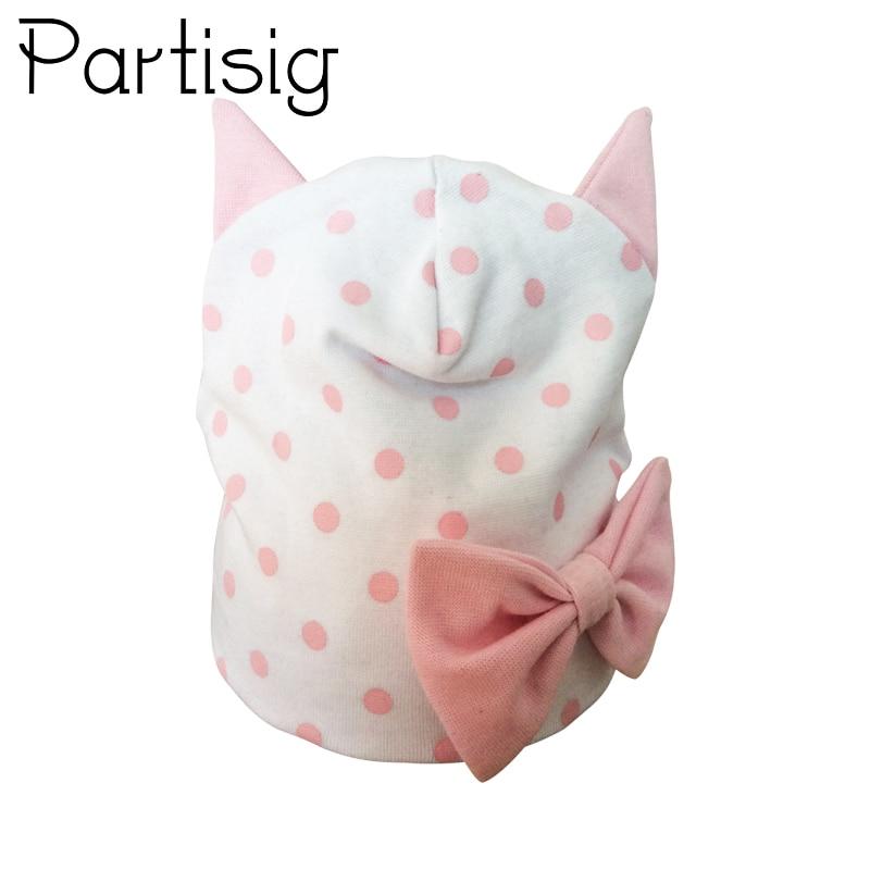Vereinigt Partisig Marke Baby Mädchen Hut Baumwolle Ohr Hut Für Mädchen Schmetterling Bogen Knoten Kinder Caps Eine GroßE Auswahl An Modellen