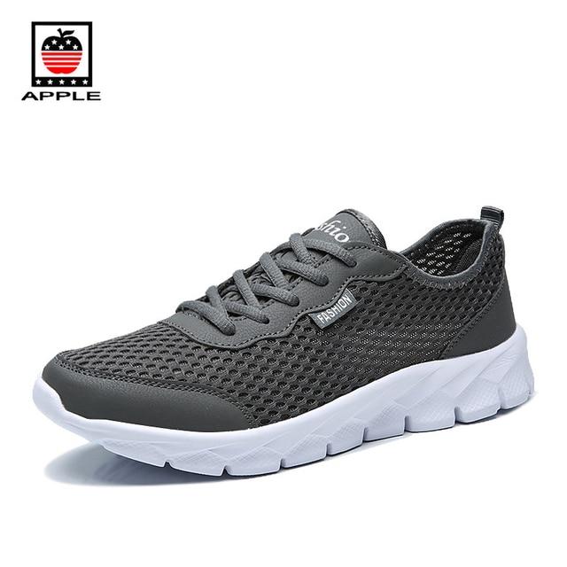Couple Sports Sneakers Hommes Femmes Chaussures de course Respirant Légers Bleu OTugFKM9km