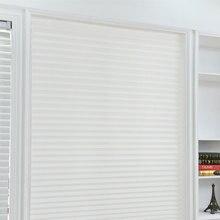 Современные окна для спальни, полузатемненные нетканые ткани, плиссированные жалюзи для кухни, безопасные офисные занавески, самоклеющиеся балконные шторы