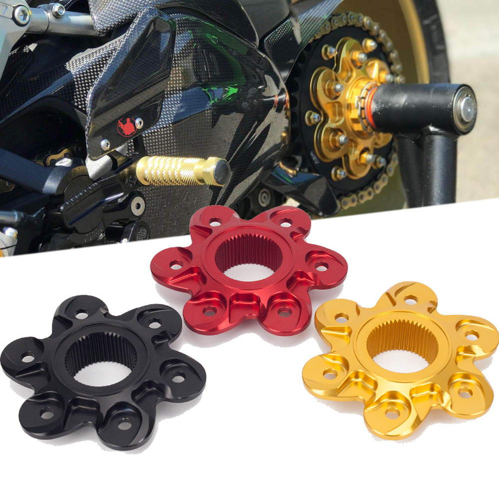 Motorcycle Accessories CNC Aluminum Rear Sprocket Drive Flange Cover Compatible For Ducati Diavel 2010-2013 2014 2015 2016 2017Motorcycle Accessories CNC Aluminum Rear Sprocket Drive Flange Cover Compatible For Ducati Diavel 2010-2013 2014 2015 2016 2017