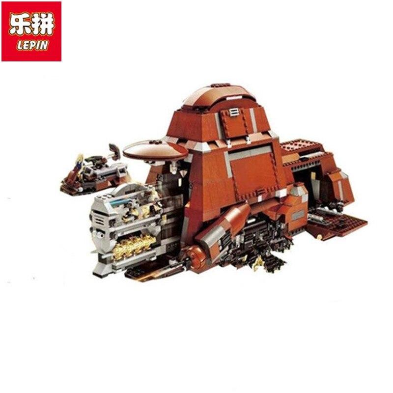 Lepin 05069 1338Pcs Star Series War Federation Gift Transportation Tank Set MTT Building Blocks Bricks Funny Toys Children цены