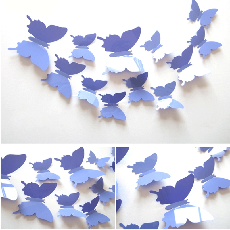 Buy butterfly adhesive wall post for Butterflies for crafts and decoration