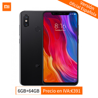 Global Version Xiaomi Mi 8 Snapdragon 845 Octa Core 6GB 64GB Smartphone MIUI 10 6.21 2248*1080P NFC QC 4.0 20MP Front Camera CE