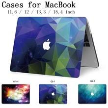 Mode pour ordinateur portable MacBook ordinateur portable housse housse pour MacBook Air Pro Retina 11 12 13 15 13.3 15.4 pouces chaud tablette sacs Torba