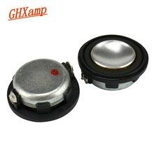 GHXAMP 28mm głośnik pełnozakresowy głośnik Bluetooth DIY 4ohm 2W przenośny głośnik wewnętrzny magnetyczny PU Edge 2szt