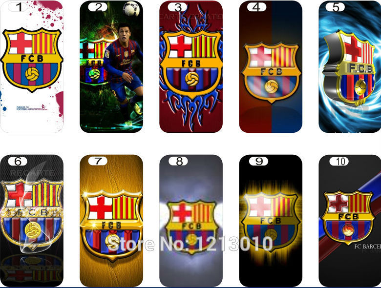 Phone case 1Hot Selling FC Barcelona Style Hard Back Cover Case iphone 6 4.7 inch - yuncheng store