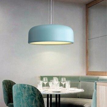 Lámpara De Techo De Macarrón Para Restaurante Simple Nórdico YWXLight, Lámpara De Estudio Para Sala De Estar Dormitorio E27 Blub AC 85-265V