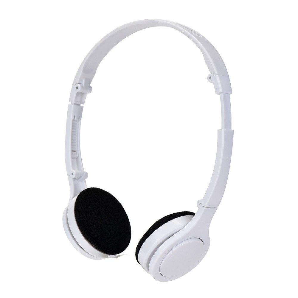 Portable 3.5mm Surround Stereo Gaming Headset Headband Headphone For iPhone Laptop Adjustable Headset Earphone Detachable Earbud 3 5mm stereo headset earphone headphone with microphone mic adjustable headband for computer laptop desktop