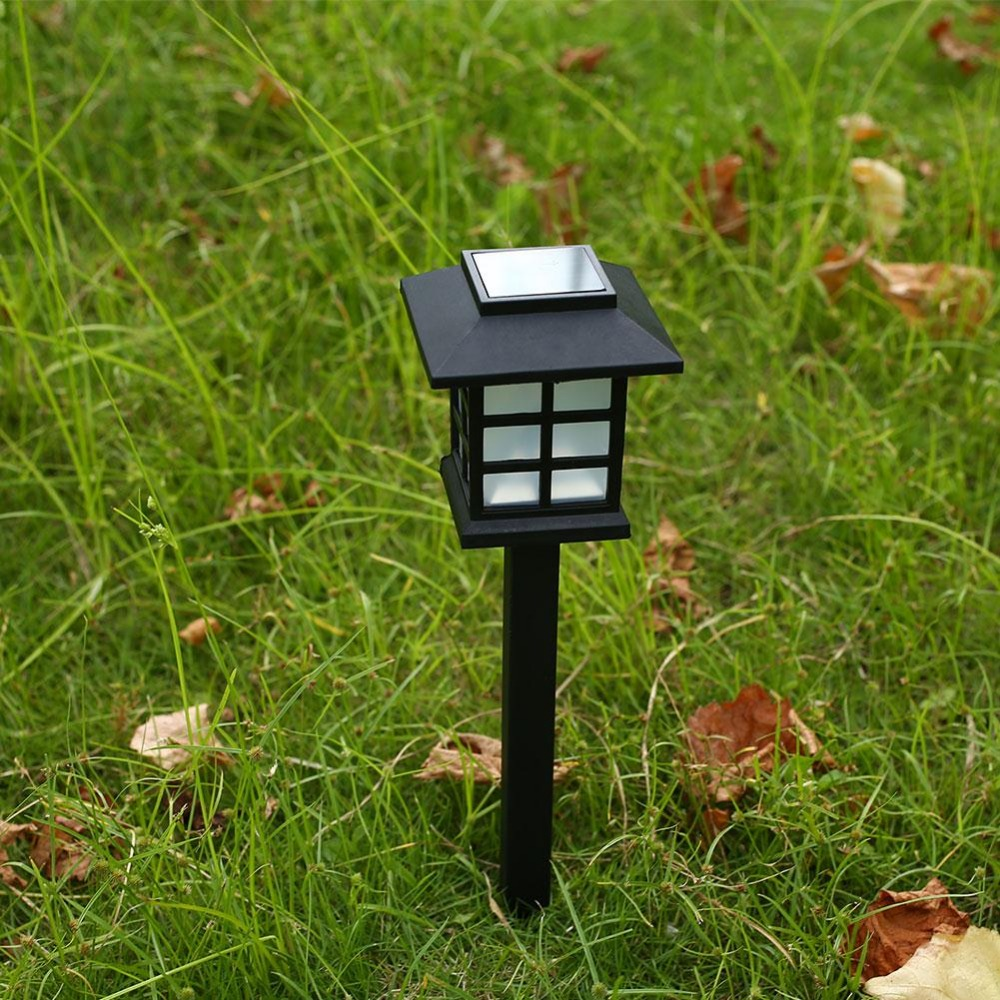 led solar light solar powered waterproof heatproof landscape lamps 12v cottage solar lawn light garden antique courtyard outdoor lighting 1