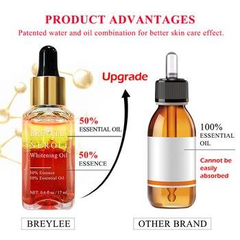 BREYLEE 3PCS Hyaluronic Acid Essential Oils Moisturizer Whitening Essence Face Skin Care Rose Firming Facial Serum