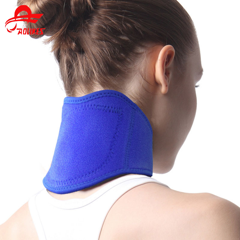 Neck Support & Brace Collar Wrap Stiff Neck Pain Relief Posture Corrector