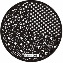 kai yunly 1PC Hot Pattern Nail Art Image Stamp Stamping Stamper Scraper Plates Manicure Nail Polish Printing Template 002 Oct 19
