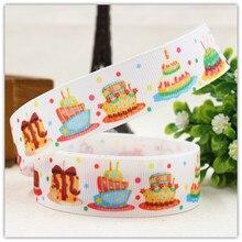 1506624, free shipping 22MM cartoon Series Printed grosgrain ribbon, DIY handmadeHair accessories Material wedding gift wrap