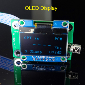 Image 2 - Nieuwe Dual Core AK4493 Dsd Usb Optische Coaxiale Bluetooth 5.0 Audio Decoder Met Oled Toetsenbord Dc 12V Meer dan ES9038Q2M