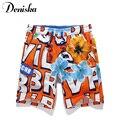 2017 Новый Летняя мода мужчины повседневная марка сексуальная напечатаны boardshort шорты роскошные быстрое высыхание bramuda мужская beachshorts короткие штаны