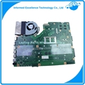 Para asus x75vc laptop motherboard com cpu 4 gb 60nb0240 i3-2350m x75vb sem dissipador de calor rev: 3.0 100% testado