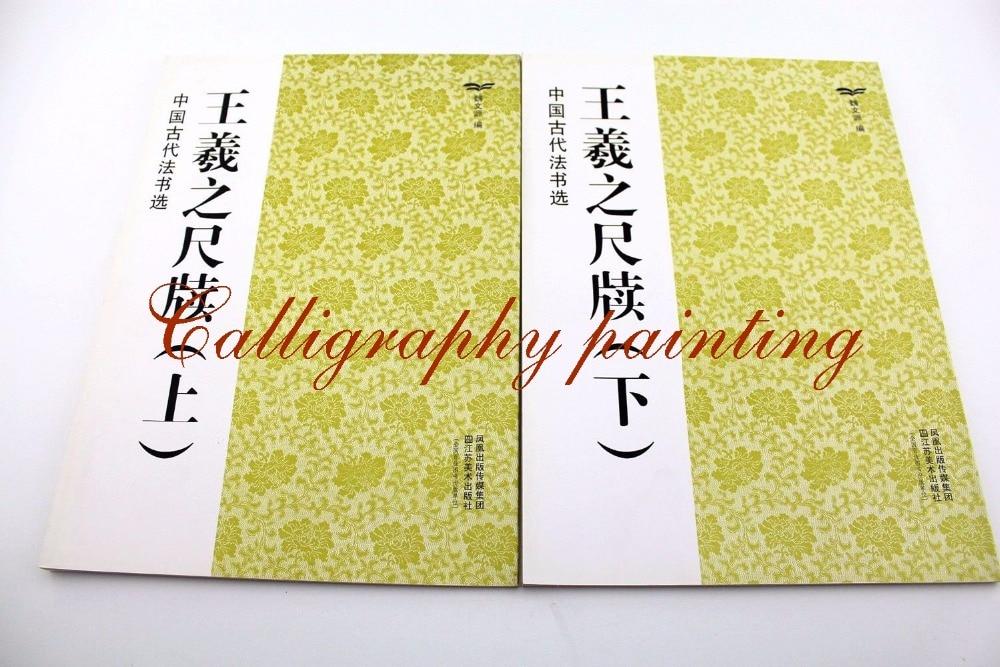 Ancient Wang Yizhi Cursive Script Ink Brush Calligraphy Copybook цена