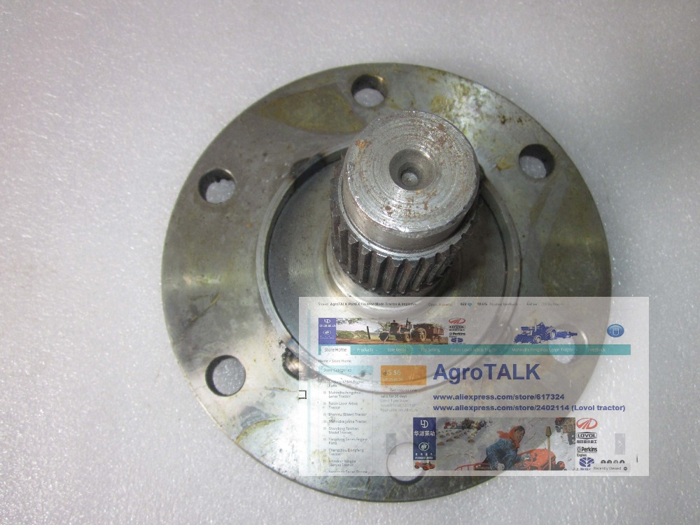 Shenniu tractor parts, the SN250 SN254 differential axle, part number: 25.39.103  shenniu tractor parts the sn250 sn254 differential axle part number 25 39 103